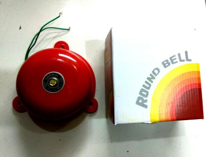 Foto Produk Round Bel Kring / Alarm Bell / Bel Sekolah 100 mm (4 inci ) Bossecom dari tk terang jaya elektrik