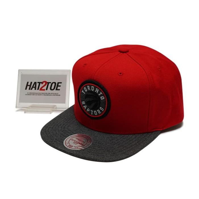 Jual Toronto Raptors Mitchell Ness Nba Team Color Cation Snapback Cap Kota Surabaya Hat2toe Tokopedia