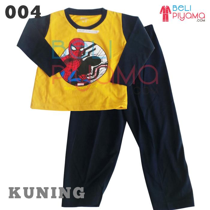 Jual Piyama Anak   Baju Tidur Anak Laki laki  Spiderman uk.2-12 ... 2e3ba42ffc