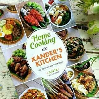 harga Home cooking ala xanders kitchen - junita Tokopedia.com