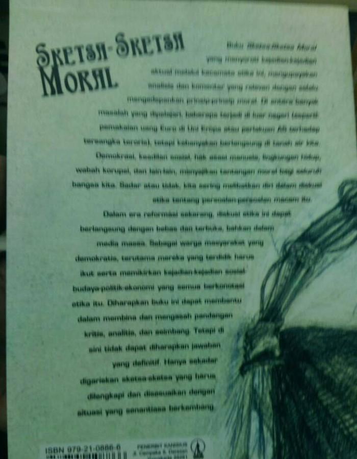 Jual Sketsa Sketsa Moral 50 Esai Tentang Masalah Aktual K