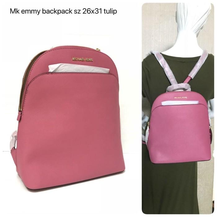 3dfac937cc10 Jual Tas Michael Kors Original - Mk emmy backpack tulip - ori ...