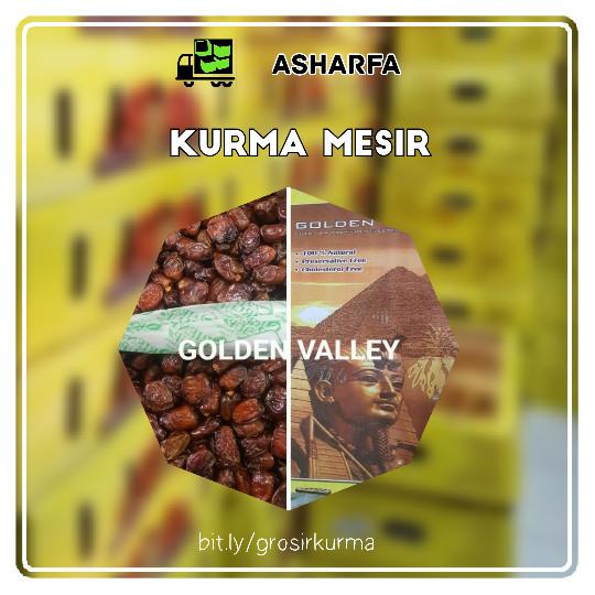 Grosir Kurma Mesir, Golden Valley Dates Fruit 10 kg .