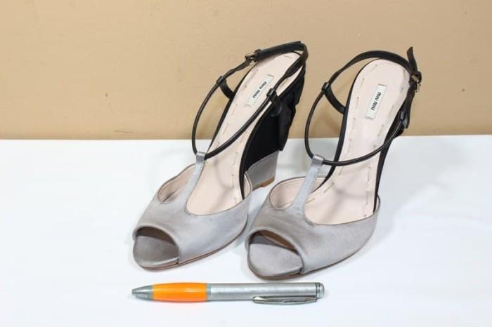 Jual Sepatu heels branded MIU MIU Made in ITALY original asli new ... 16435631ad