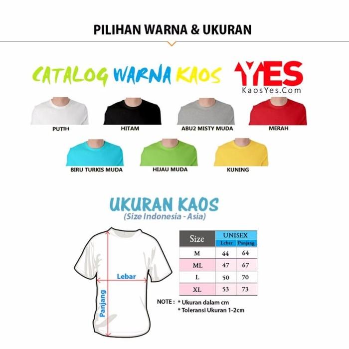 promo KaosYES Kaos Polos T Shirt O NECK LENGAN PANJANG pria