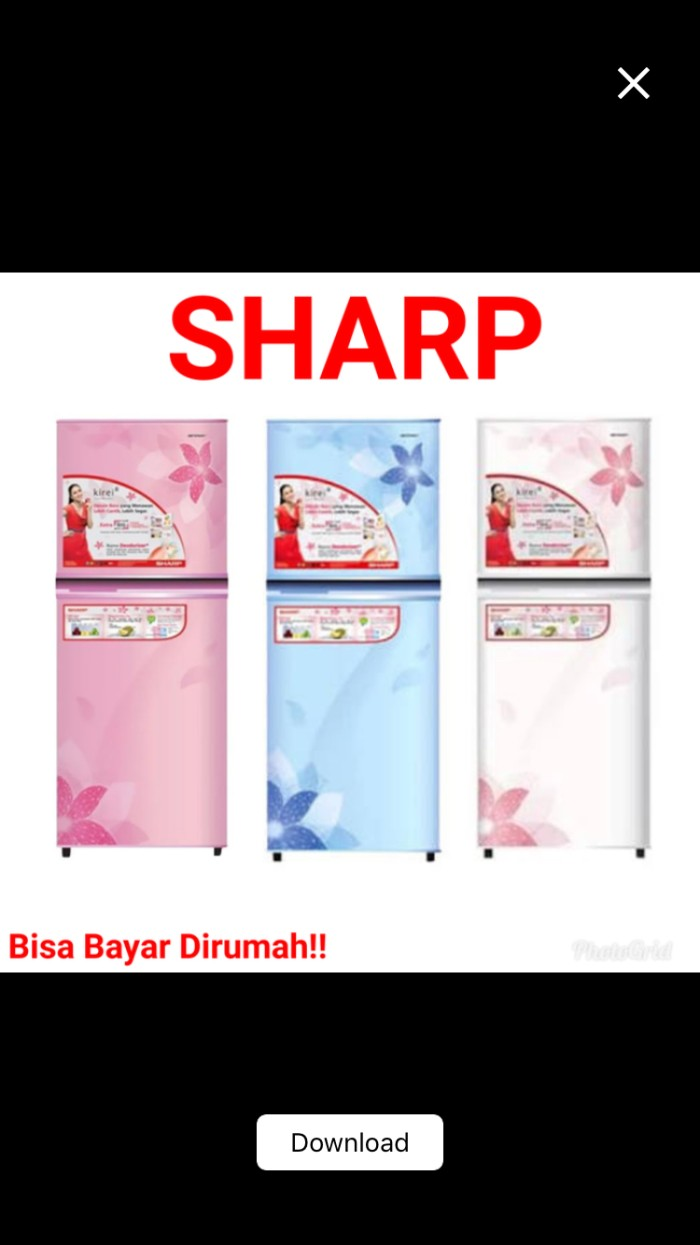 SHARP Kulkas SJ-X165 MG SJ165MG 1 pintu Shine Glamour Design terlaris . Source ·