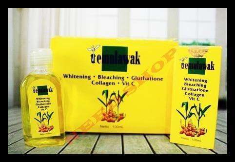 Toner Temulawak Holo Emas Besar Botol Kuning Original 100 Ml