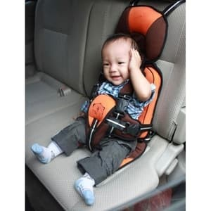 Jual Kiddy Baby Car Seat Car Cushion 2 3 Tahun Orange Finstored Tokopedia