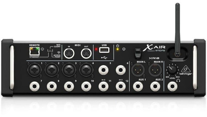 harga Digital mixer with wifi behringer  x air xr12 / xr-12 Tokopedia.com