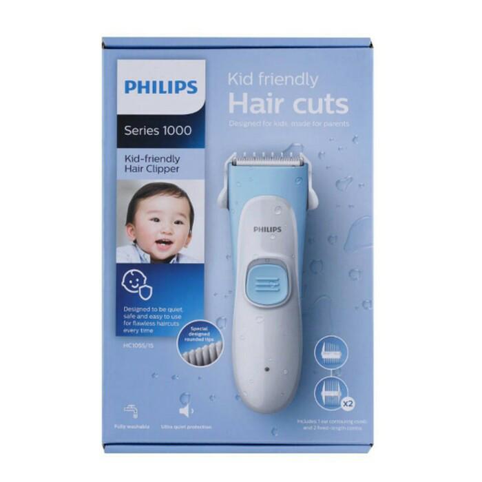 harga Philips kid-friendly hair clipper hc1055/15 alat cukur hc1055 pencukur Tokopedia.com