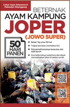 Foto Produk Beternak Ayam Kampung Joper (Jowo Super) 50 Hari Panen dari Toko Kutu Buku