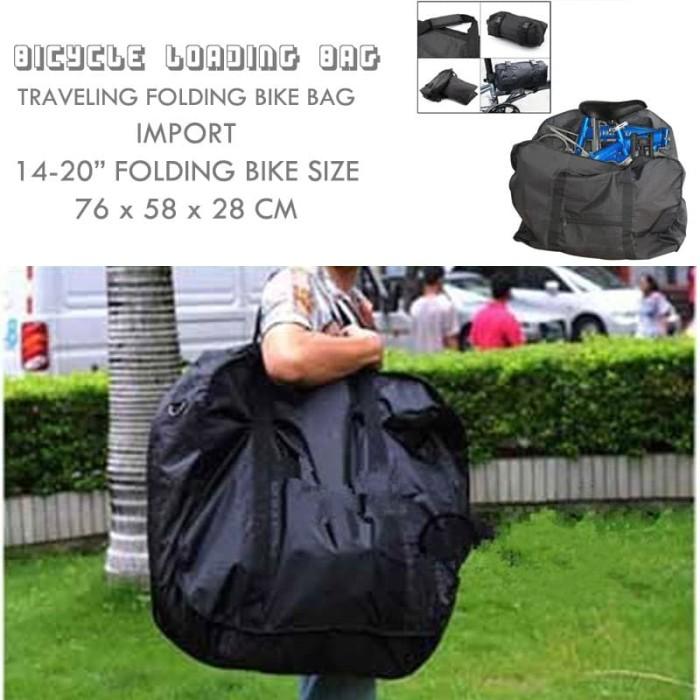 Jual Tas Loading Sepeda Lipat - Folding Bike Bags - Kota