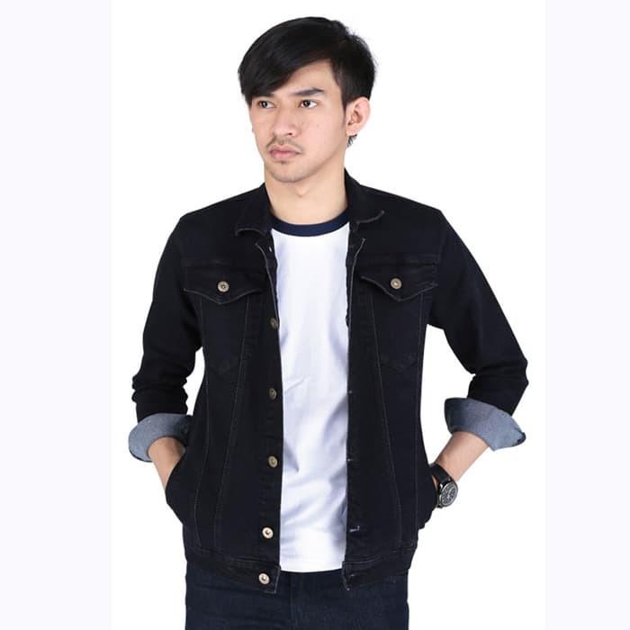 Jaket Jeans Denim Hitam - Daftar Harga Terkini dan Terlengkap Toko ... 4f6f94e08f