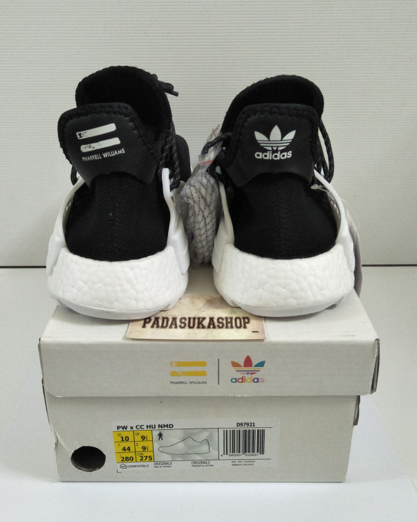 66fc1f01e Sepatu Adidas pw x cc Hu Nmd Chanel black white unauthorized authentic