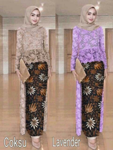 Jual Baju Kondangan Terlaris Kebaya Wanita Modern Atasan Brokat Rok Batik Dki Jakarta Modis Trendy Tokopedia
