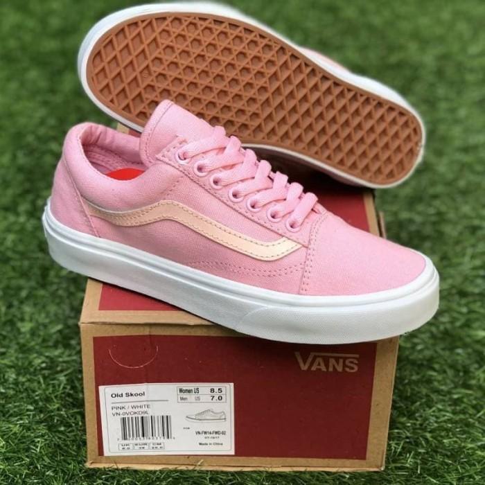 harga Sepatu premium wanita vans old skool pink women original bnib Tokopedia.com