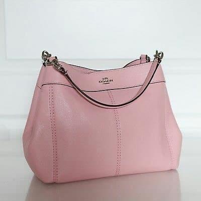 Jual Coach Small Lexy Blush Pink Leather Original . Tas Coach ... 25c8c4e682