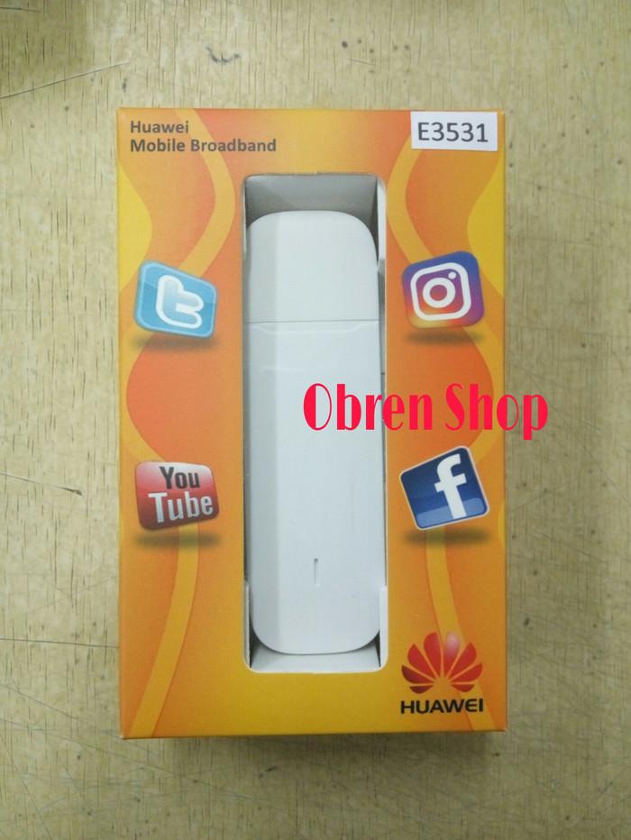 USB Modem Huawei E3531 Unlock All Operator GSM 21MBPS