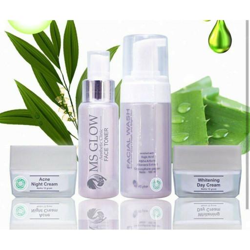 Jual Paket Jerawat Paket Acne Whitening Glow By Ms Glow Cantik Skincare Kota Surabaya Lapak Ol Shop Tokopedia