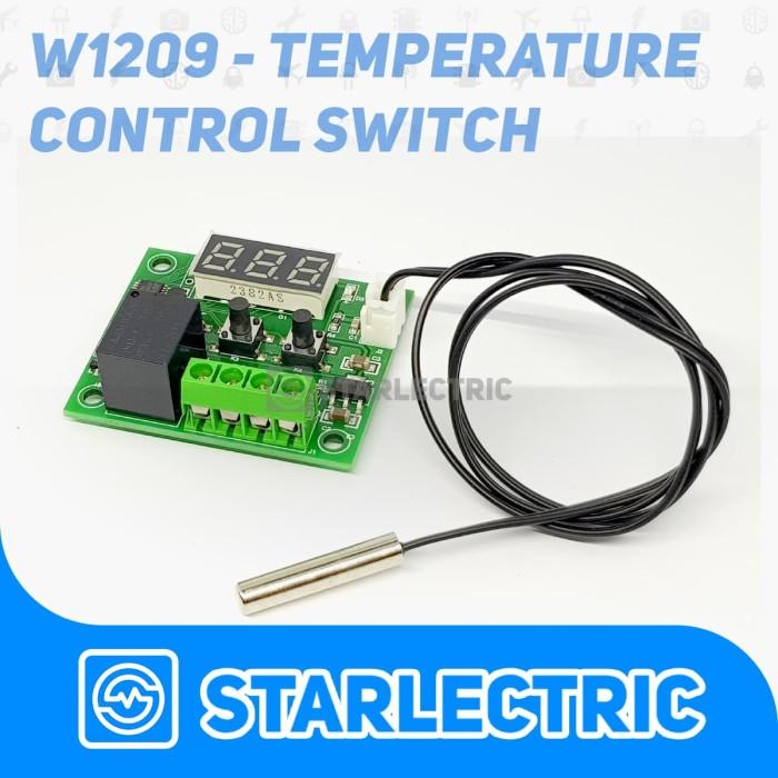 harga W1209 mini thermostat temperature controller relay Tokopedia.com
