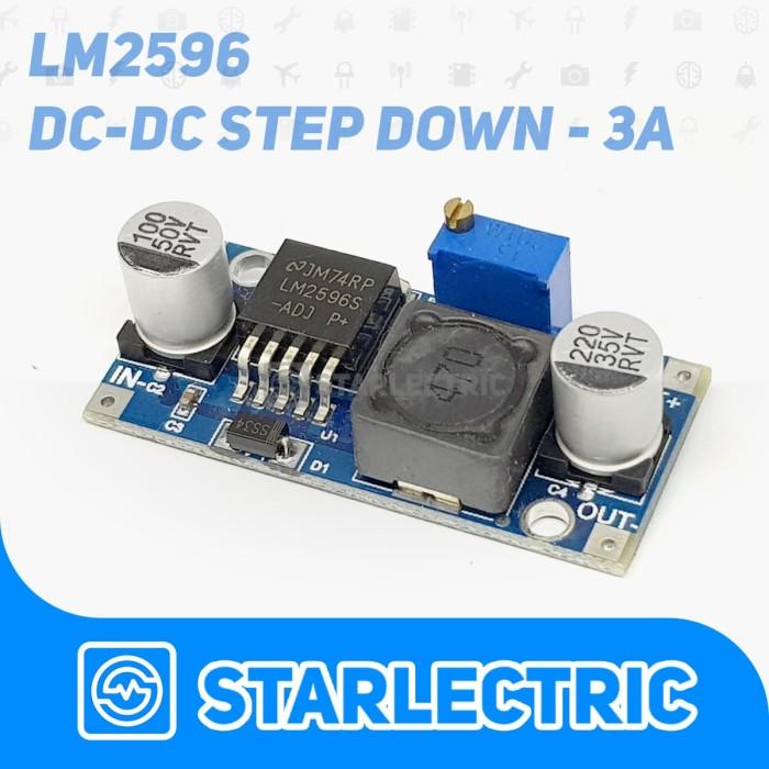 Foto Produk DC-DC Step Down Converter LM2596 dari Starlectric