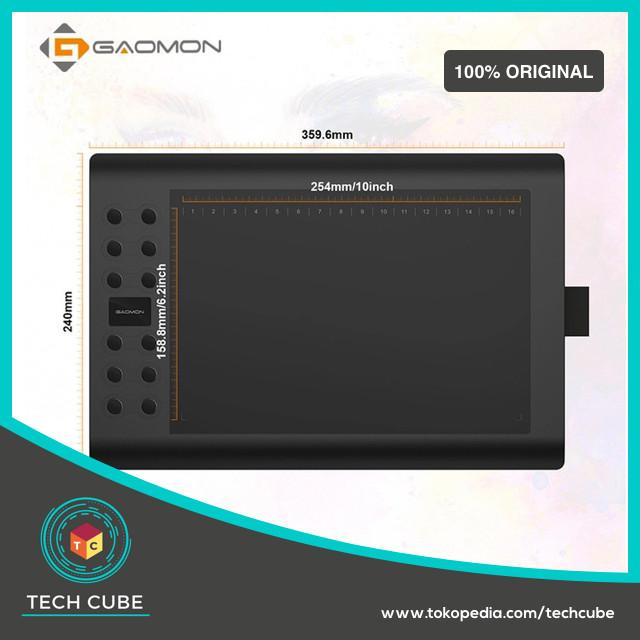 Foto Produk GAOMON M106K for Drawing Tablet and OSU! dari Tech Cube
