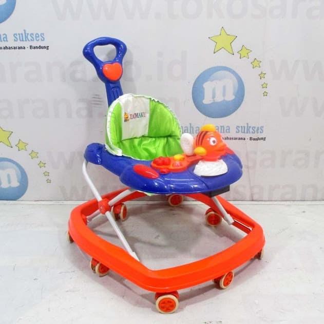 harga Tajimaku bw607 ikan badut baby walker mainan bisa dilepas Tokopedia.com