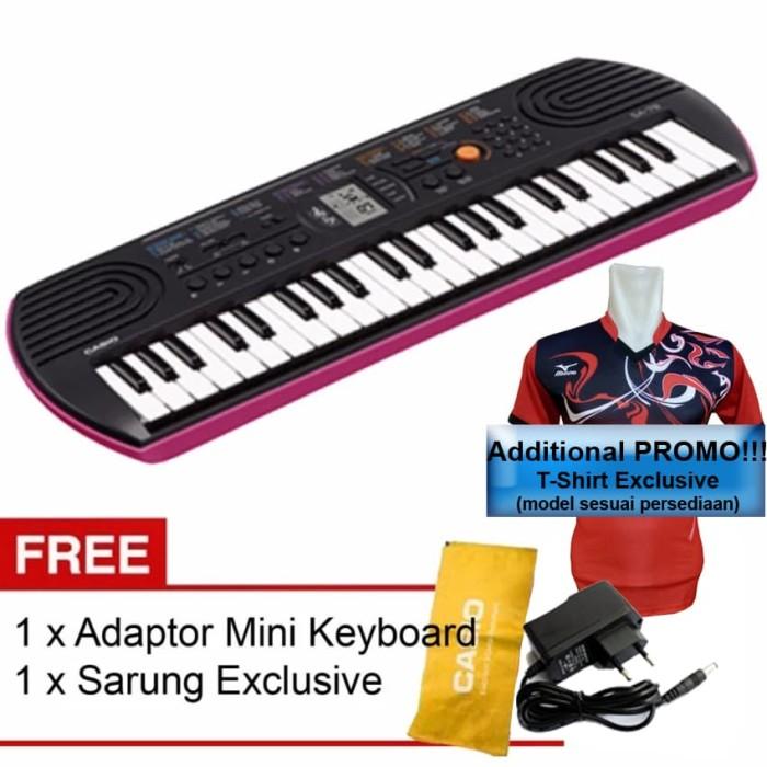 harga Promo free adaptor!!! mini keyboard sa-76/sa-77/sa-78 casio Tokopedia.com