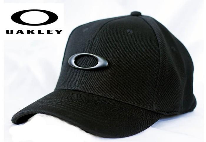 harga Topi oakley black flexfit logo black tok 022 Tokopedia.com