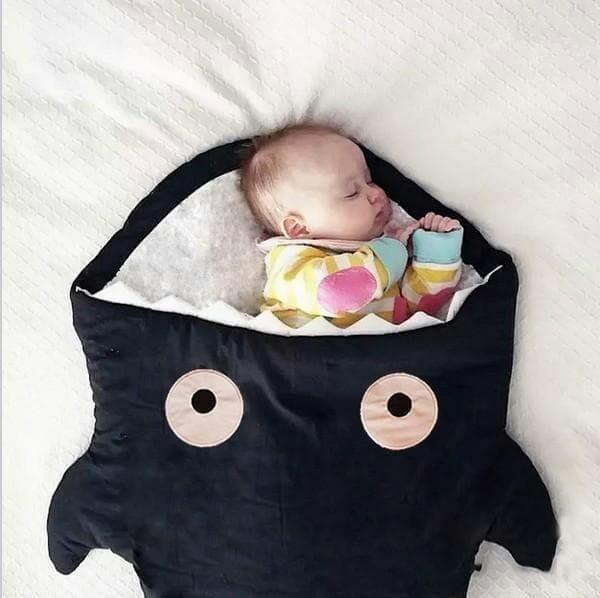 Selimut bayi bag baby shark