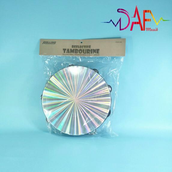 harga Tamborin / tambourine hologram 10  merk rolling original Tokopedia.com
