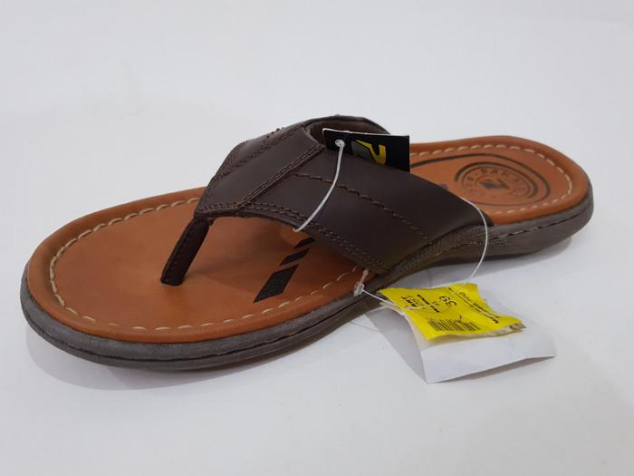 Jual sandal pria pakalolo  original  kulit asli 1251 - Cokelat Tua ... d1641383bf
