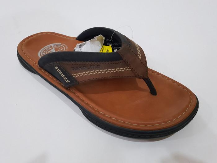 Jual sandal pria pakalolo  original  kulit asli 00871 - Cokelat Tua ... 2de8342883