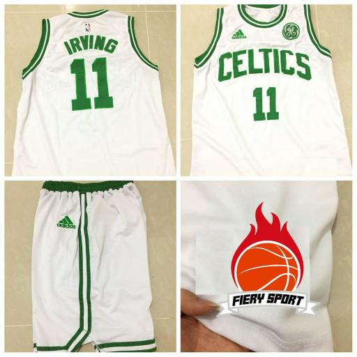 low priced 6474b 9776c Jual JERSEY BASKET NBA BOSTON CELTIC HOME KYRIE IRVING WHITE - DKI Jakarta  - carvel shop | Tokopedia