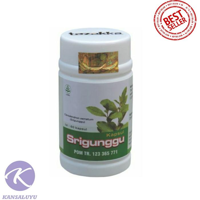 harga Kapsul extrak srigunggu original - herbal obat gurah & batuk flu alami Tokopedia.com