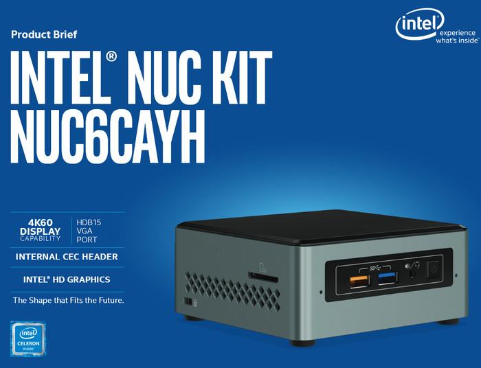 harga Intel nuc 6cayh full set (hdd 500gb + ddr3 4gb + win 10 original Tokopedia.com