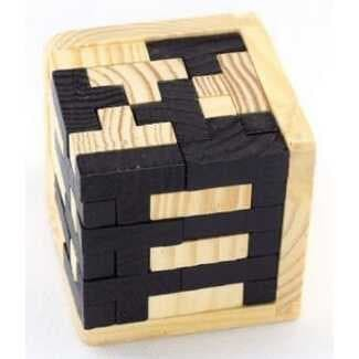 harga 3d wood puzzle model tetris cube Tokopedia.com