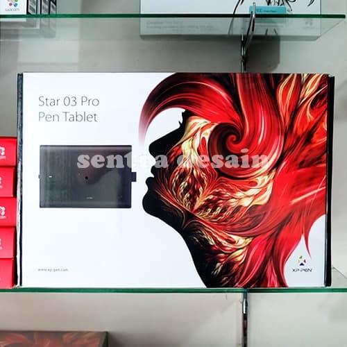 Foto Produk XP-Pen Star 03 Pro Pen Tablet Alat Desain Grafis Alternatif Wacom dari Desain Solo
