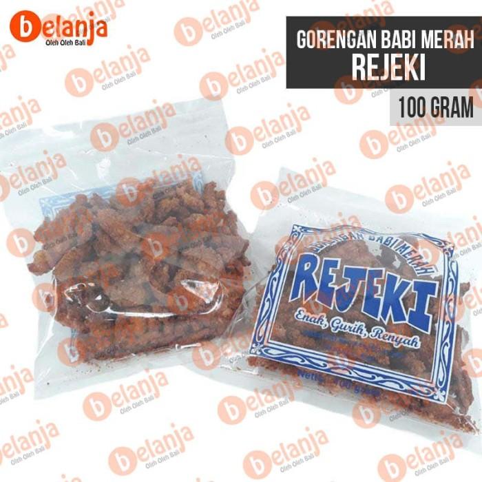 harga Gorengan babi merah rejeki 100 gr oleh oleh bali Tokopedia.com