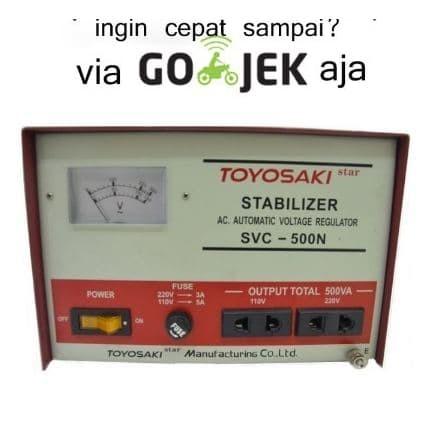 harga Stabilizer svc-500n toyosaki 500 watt (listrik stabil 220v) Tokopedia.com
