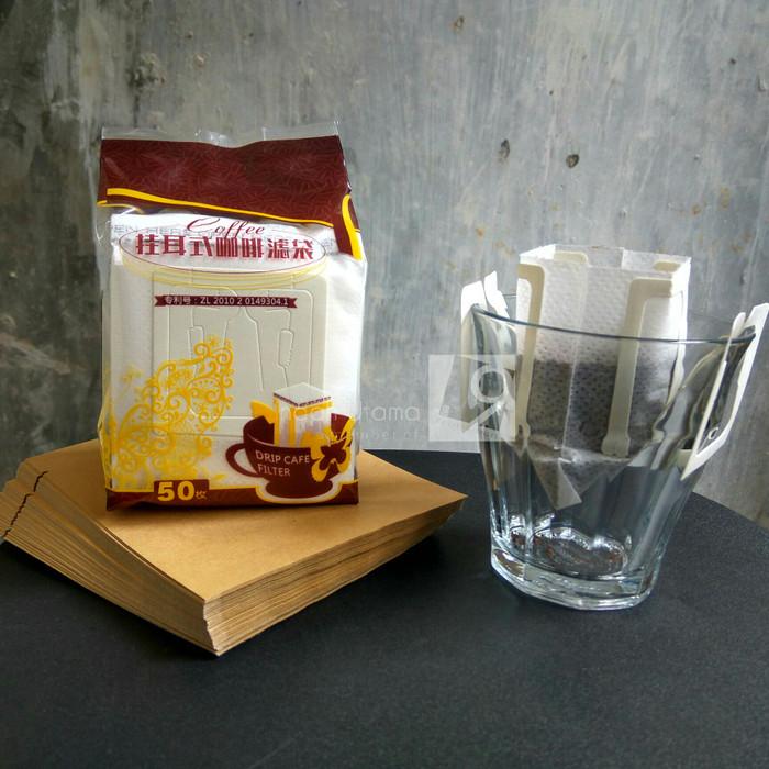 harga Paket hemat drip bag + sachet papercraft 50+50 Tokopedia.com
