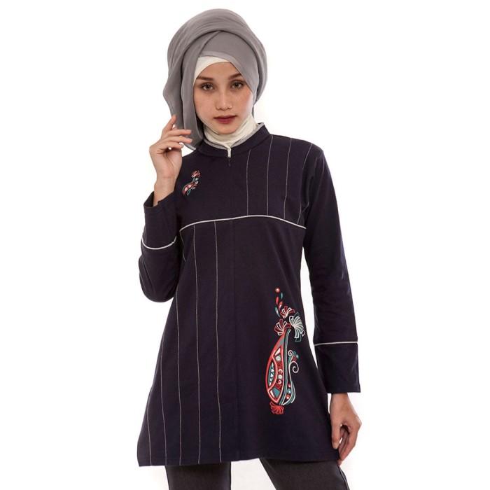 Jual Baju Atasan Busana Blus Muslimah Blouse Muslim Wanita Cewek MF ... bbaed57f64