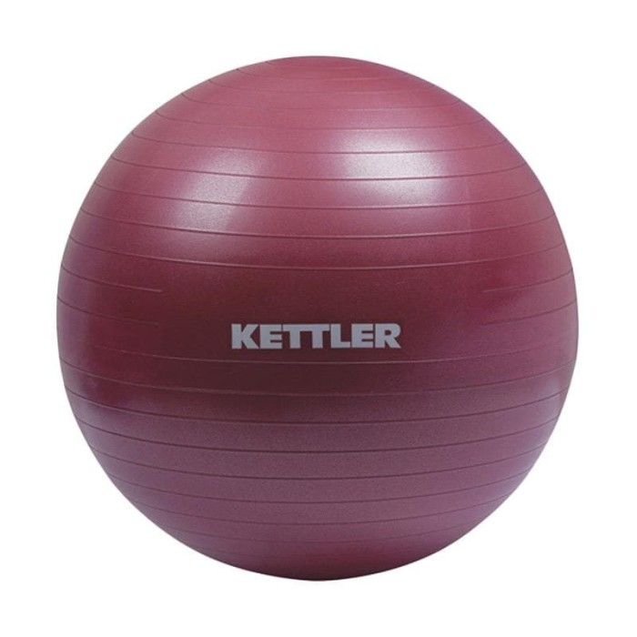 harga Kettler gym ball peralatan fitness- burgundy [65 cm/134-110] 002002012 Tokopedia.com