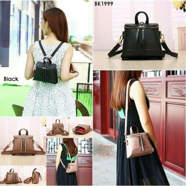 Ransel wanita mini batam backpack import tas wanita tas selempang