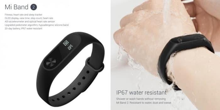 harga Terbaru !! xiaomi mi band 2 fitness tracker anti air sertifikat ip67 Tokopedia.com
