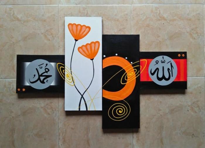 harga Lukisan minimalis kaligrafi  p4-177 Tokopedia.com