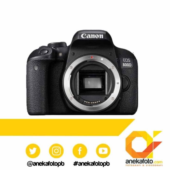 harga Canon eos 800d body only wifi Tokopedia.com