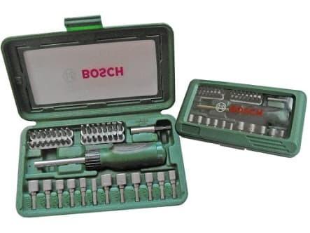 harga Bosch x-line 46 screwdriver set / mata obeng set 46pcs Tokopedia.com