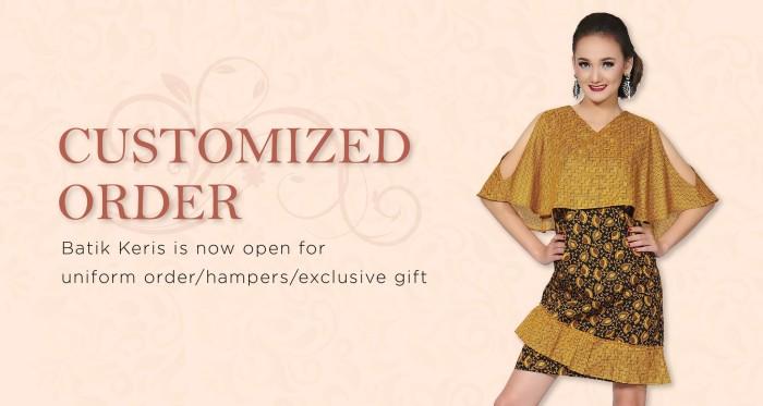 harga Batik keris atasan dress high quality Tokopedia.com