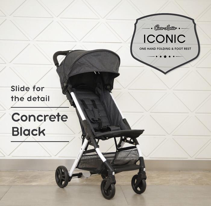 harga Stroller bayi iconic cocolatte cl 701 iconic Tokopedia.com